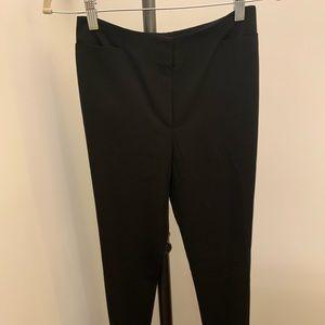 Flattering simple black straight pants